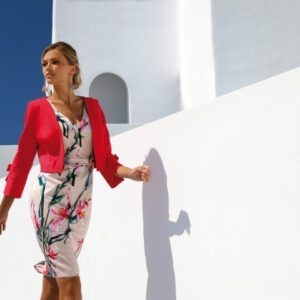 LINEA RAFFAELLI S20 - SET 239 - Jacket 201-105-01 - Dress 201-127-01 (Small)