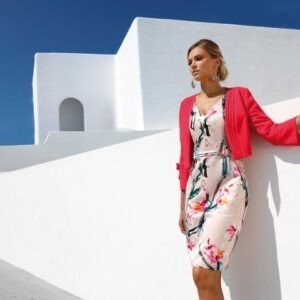 LINEA RAFFAELLI S20 - SET 239 - Jacket 201-105-01 - Dress 201-127-01 landscape (Small)